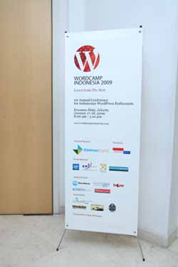 Banner Wordcamp Indonesia2009