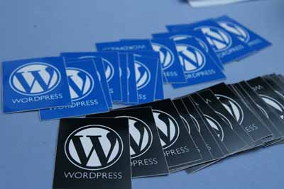 Sticker WordPress
