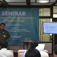 Knowledge Management dan Dunia Pendidikan
