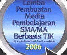 Penjurian Tahap Awal Lomba Pembuatan Media Pembelajaran 2006